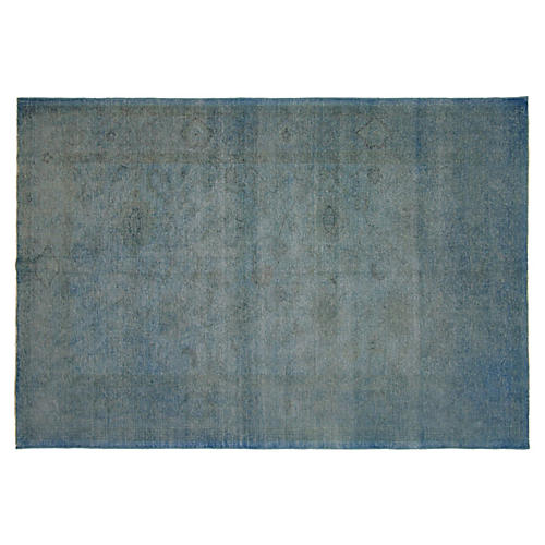 Egyptian Overdyed Rug, 6' x 8'9""