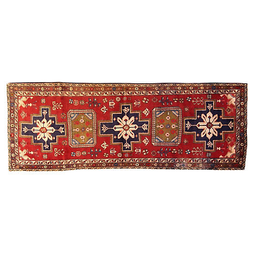 """Persian Rug, 4'2"""" x 11'9"""""""