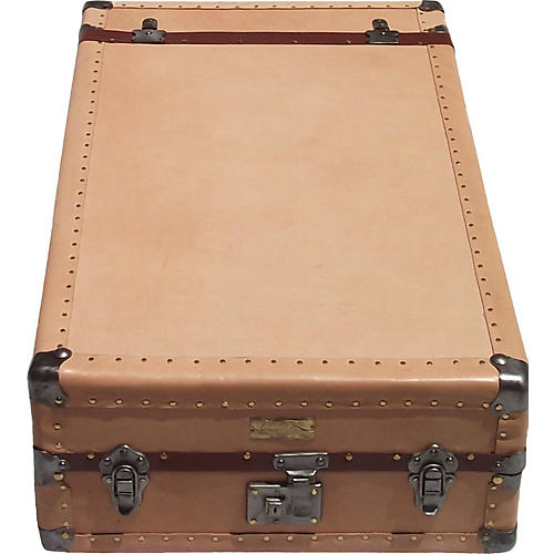 1940s Leather Tourist Trunk