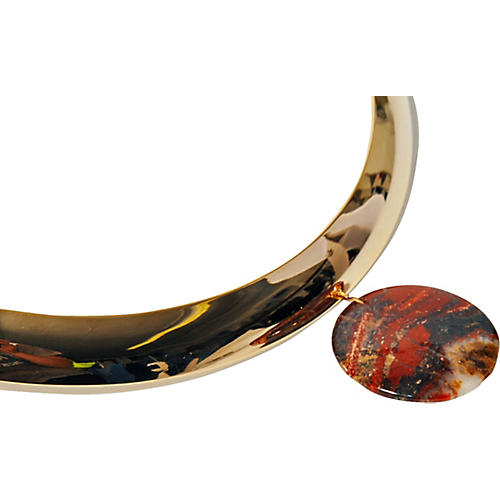 Modernist Agate Collar Necklace