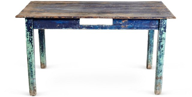 Blue Pine Table