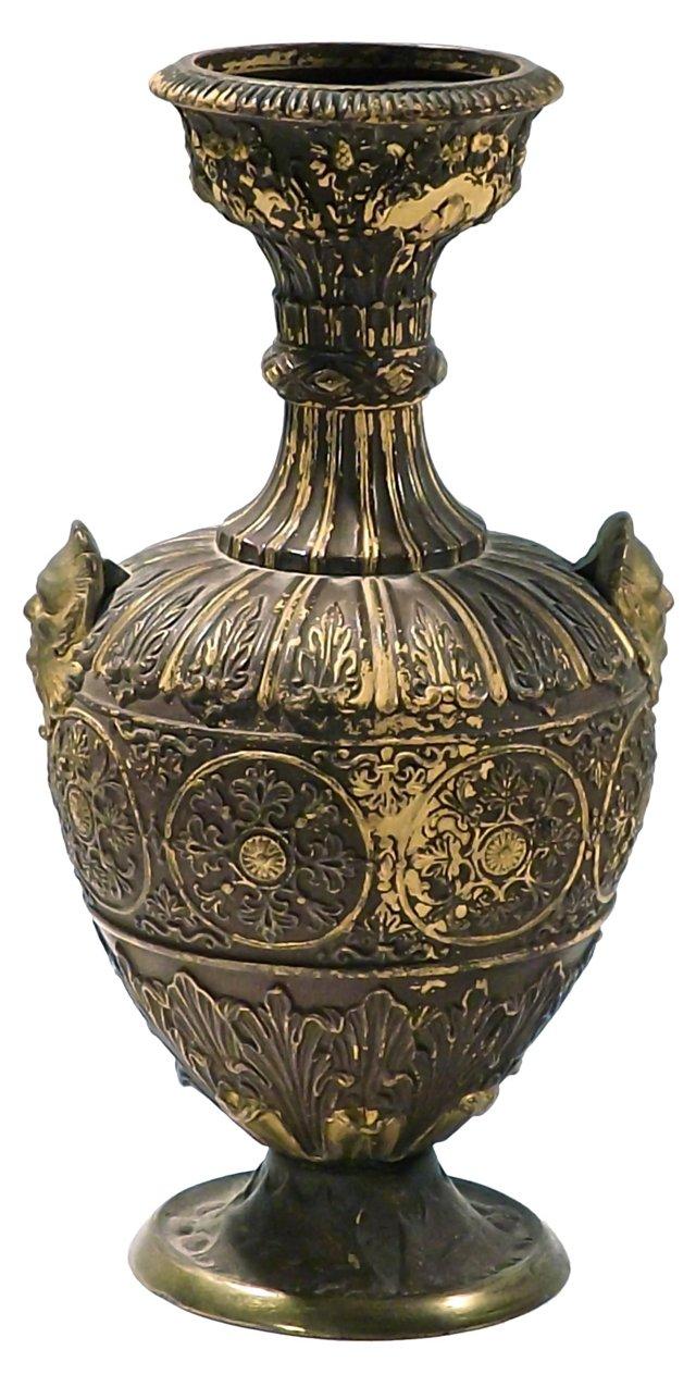 Antique Classical Ceramic  Urn Vase