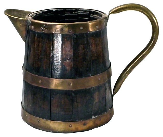 Antique English Tavern Pitcher