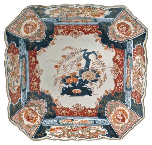 Antique Porcelain Imari Platter