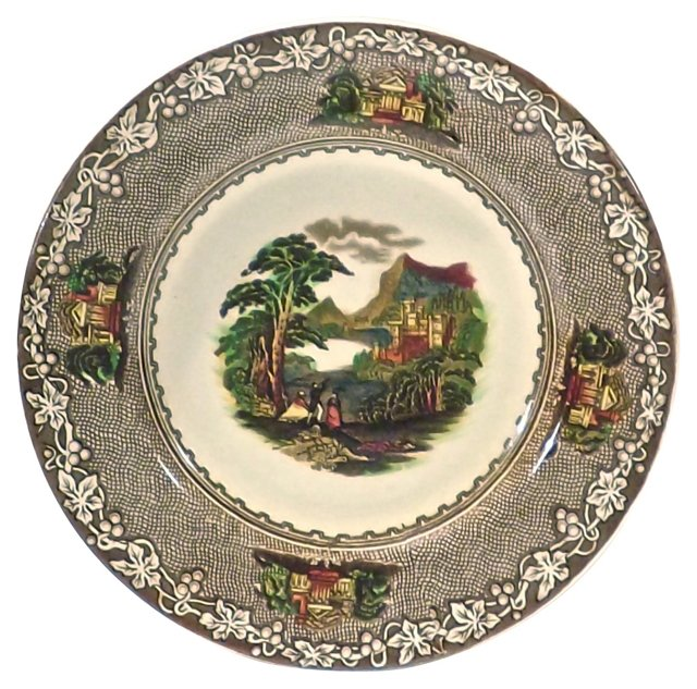 Royal Staffordshire Castle Plate