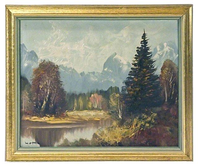 Hofer Mountain Landscape