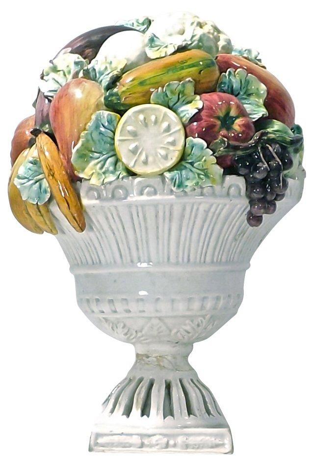Italian Ceramic Fruit  Plaque