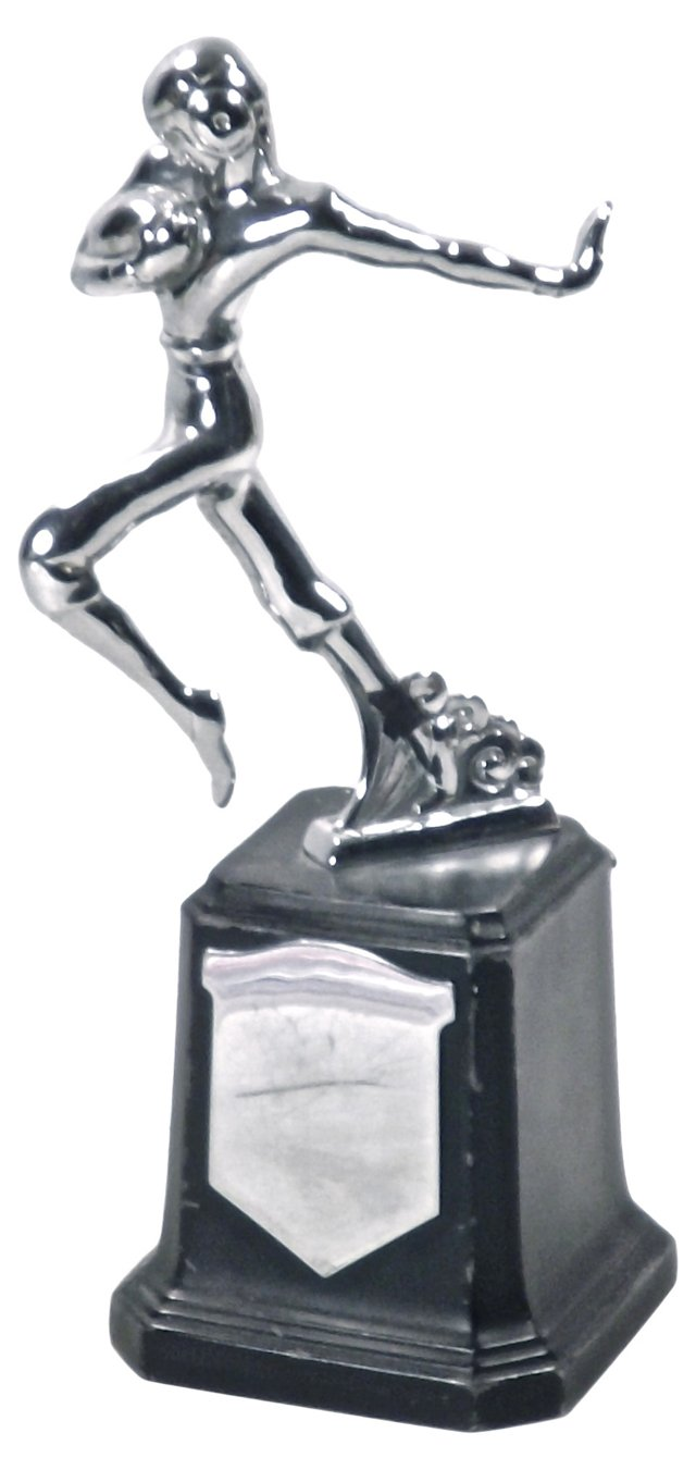 Art Deco Football Trophy