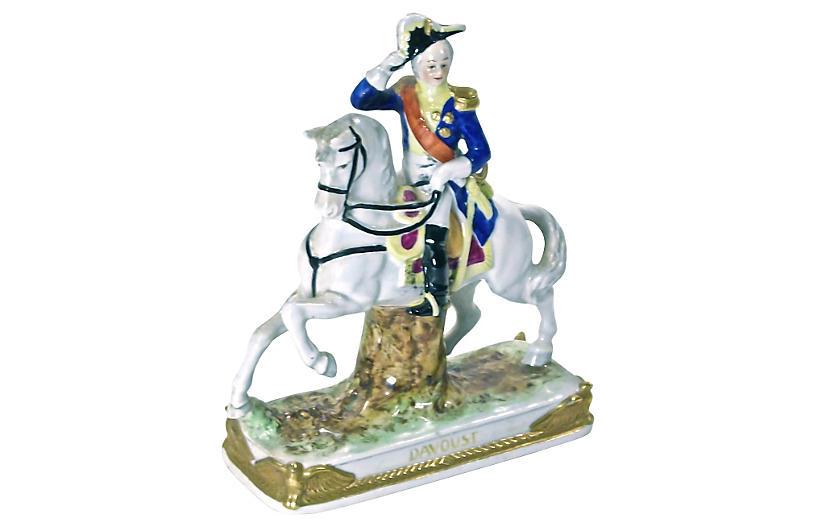 Antique Meissen Calvary Figurine