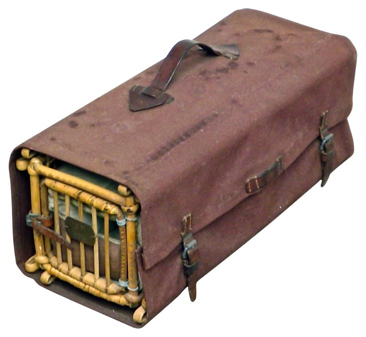 Military  Carrier Pigeon Crate