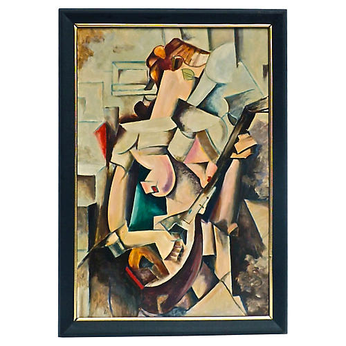 Cubist Musician
