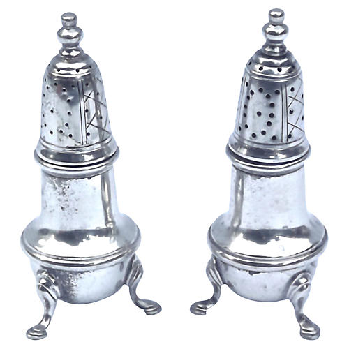 Sterling Silver Salt & Pepper Shakers