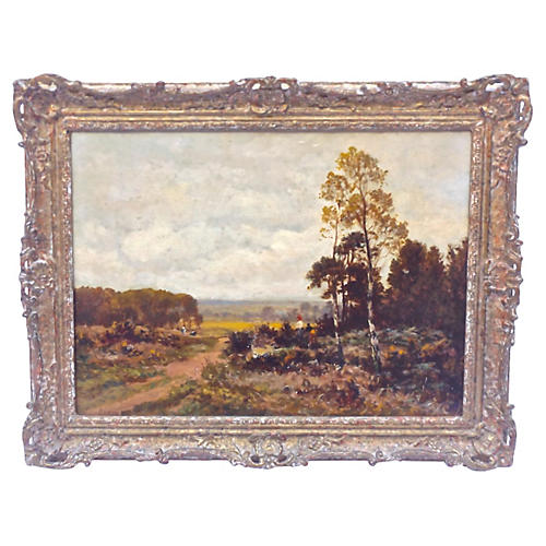 19th-C. French Landscape