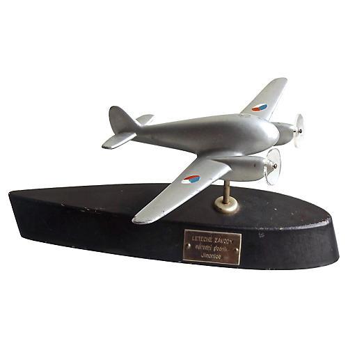 Deco Czech Trophy Model Plane