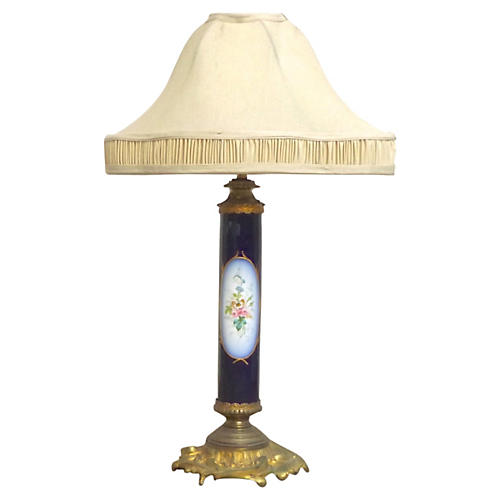 Antique Porcelain Sèvres Lamp