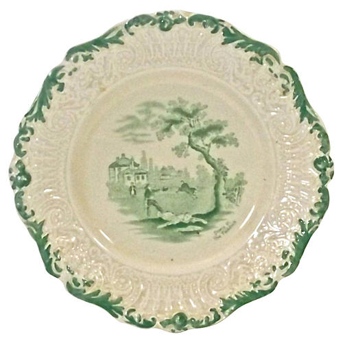 Antique Ridgways Scenic Plate