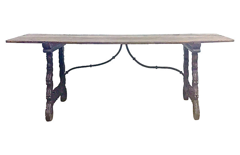 16th-C. Spanish Refectory Table