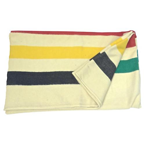 Hudson's Bay Point Striped Blanket