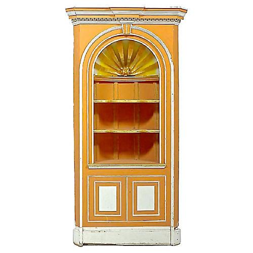 George III-Style Corner Cabinet
