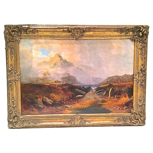 Clarence Henry Roe Landscape Painting