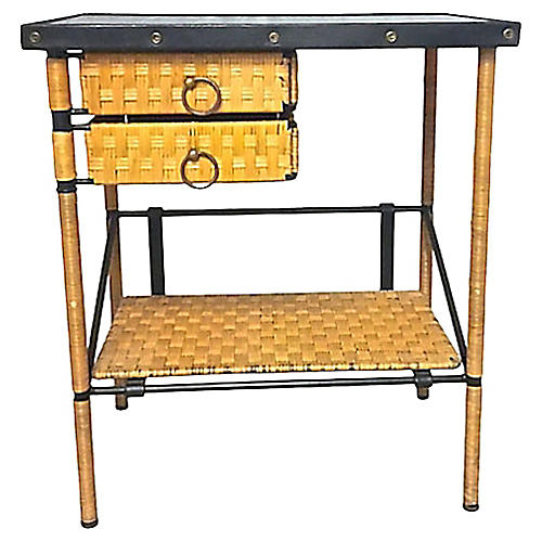 Mid-Century Modern Adnet End Table