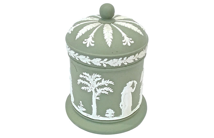 Antique Wedgwood Classical Canister