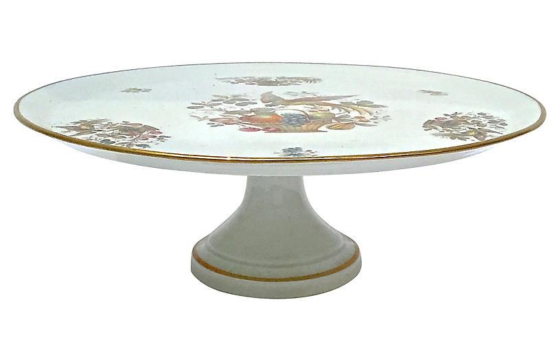 Limoges Porcelain Cake Plate