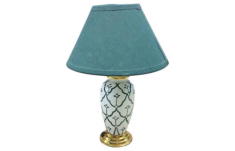 Porcelain Mini Desk Lamp