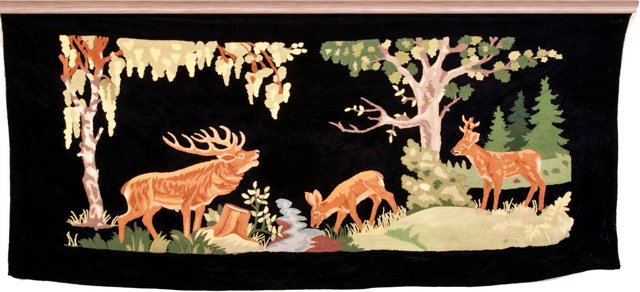 Antique Black Forest   Tapestry