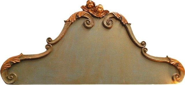Italian Headboard, C. 1800