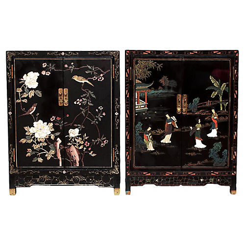 Chinese Export Cabinets, C.1920-1950s