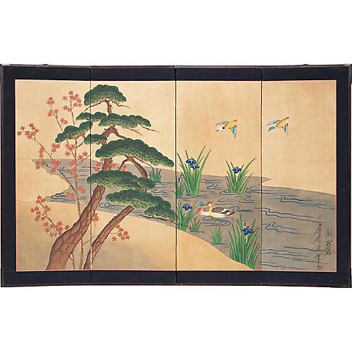 C. 1940s Japanese Screen