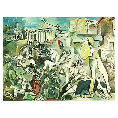 Picasso L'enlèvement des Sabines