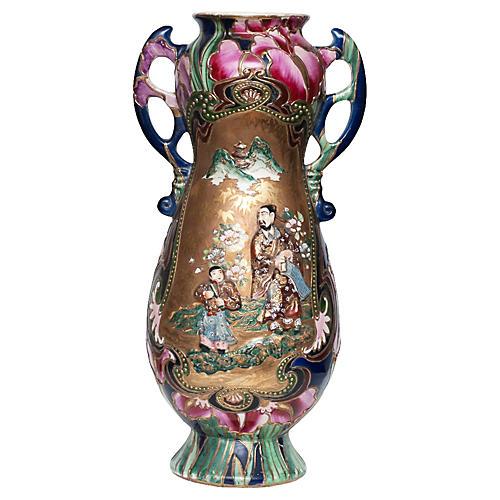 Japanese Satsuma Vase, C.1850