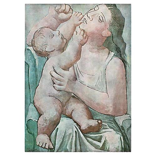 Picasso Maternité Photogravure, 1971