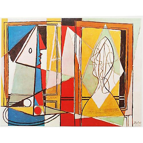 Picasso Deux Femmes a la Fenetre Print