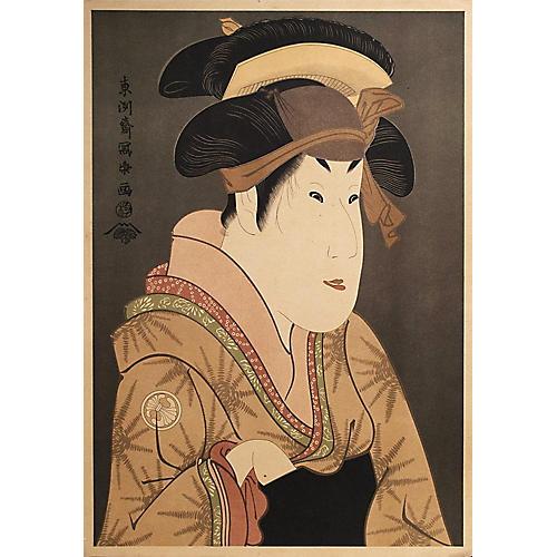 19th-C. Woodblock by Tōshūsai Sharaku