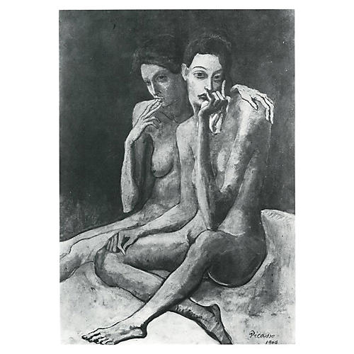 Two-Sided Picasso Photogravure, 1971