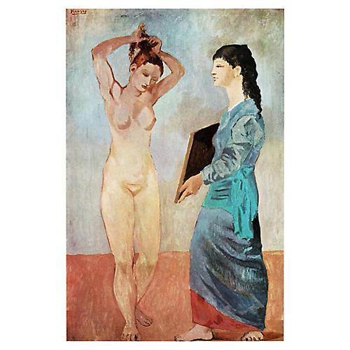 Picasso La Toilette Photogravure, 1971