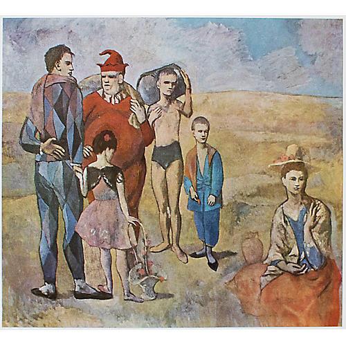 Picasso Les Bateleurs, 1971