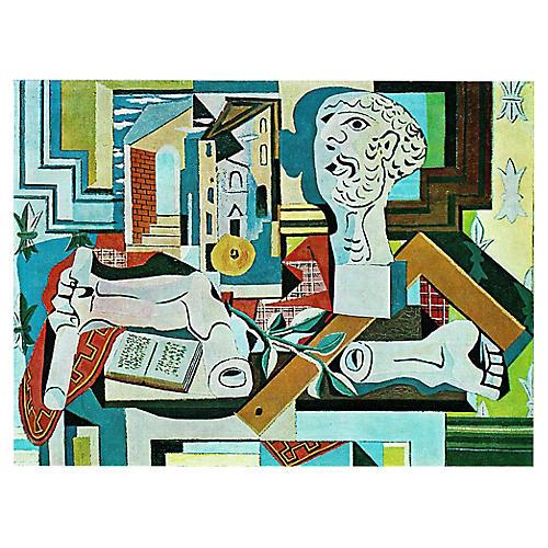 Picasso l'Atelier Ou Nature Morte, 1971