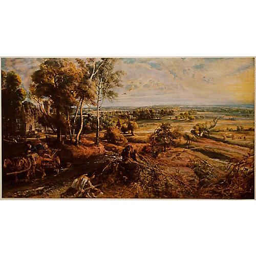 Rubens Landscape w/ Castle Steen