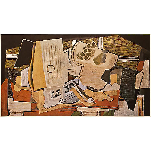 Georges Braque Le Journal, 1947