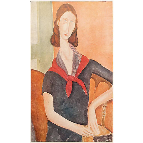 Modigliani Portrait of Jeanne Hébuterne