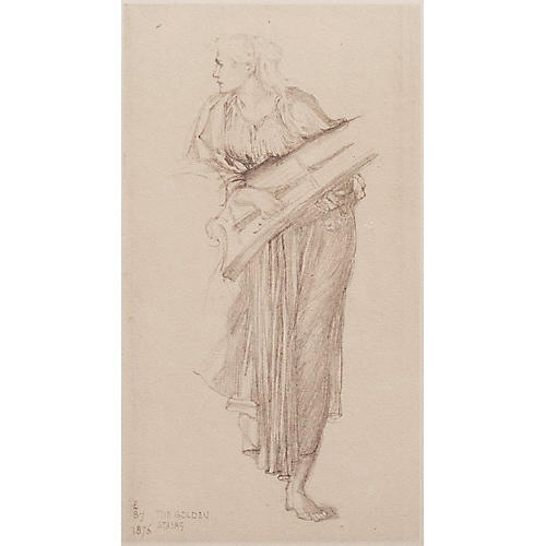 Sir Edward Burne-Jones Study, 1959