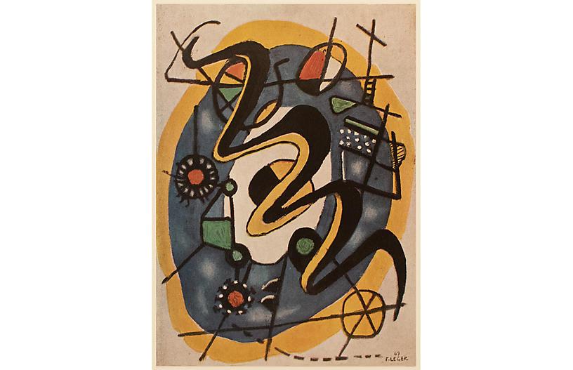 1948 Fernand Léger, Composition