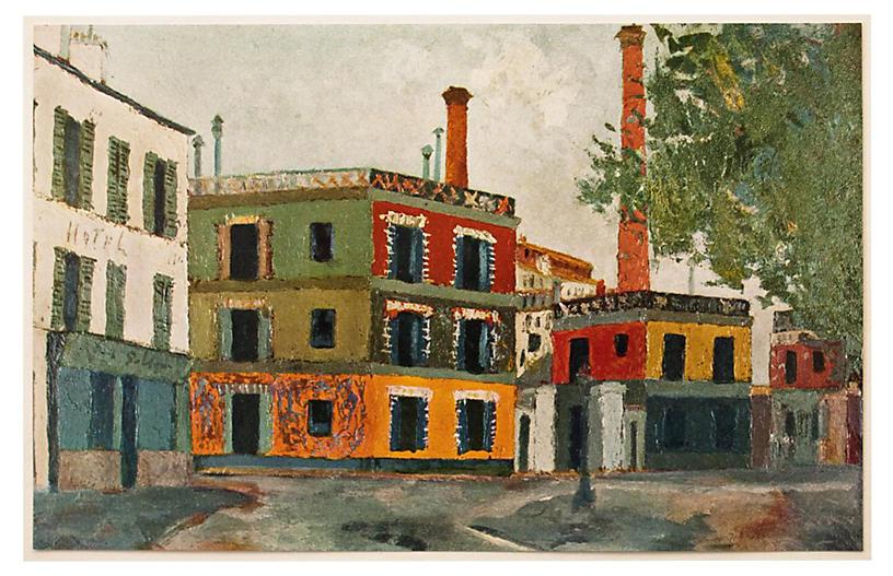 1950s Maurice Utrillo, Factories