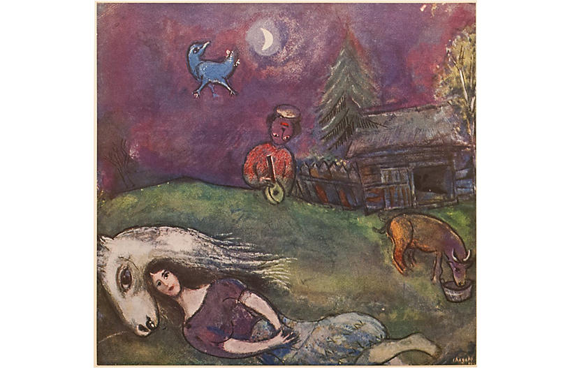 Chagall, In the Shadow of Dreams, COA