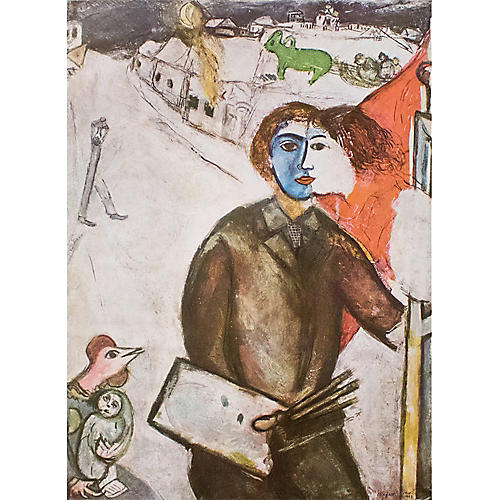 Marc Chagall, Nightfall, C. 1940