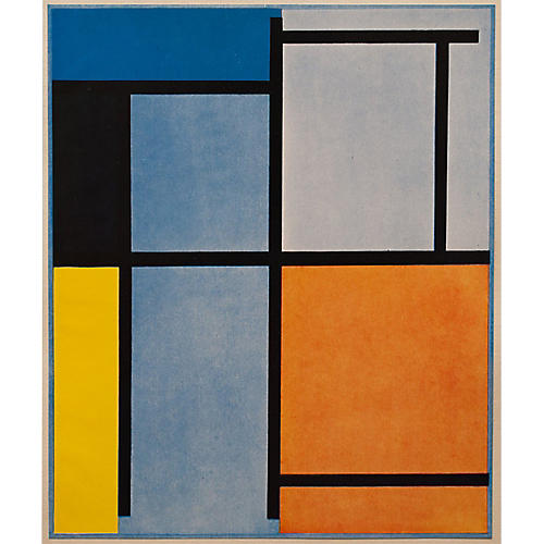 1947 Piet Mondrian Lithograph